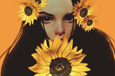 My Sunflower by CezarBrandao