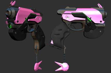 D.Va weapon s by CezarBrandao