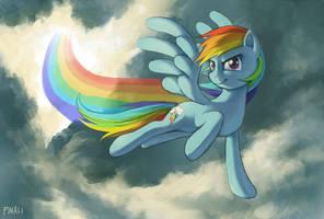 Rainbow dash by pinali