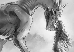dragon's princess by pinali