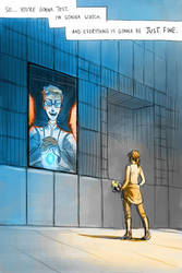Portal 2: Just fine by pinali