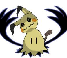 Mimikyu Wants A Hug by keybladesrus