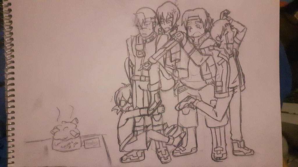 Voltron Draw Your Squad By Amaranthynn On DeviantArt