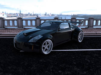 Nissan 350 Z Black Edition v2 by Slimaq