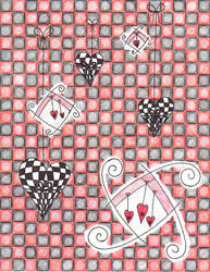 checkerboard explosion by VampirexPenguin