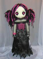 Ratty Goth Girl 0929 by Zosomoto