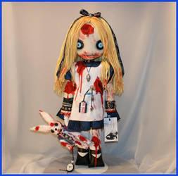 Zombie Alice in Wonderland by Zosomoto