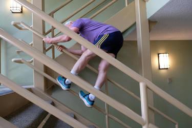 Enzoshoe climbing stair rails by enzoshoe