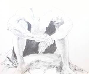 Headless Joe Sitting by enzoshoe