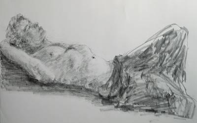 Joe Lying Down by enzoshoe