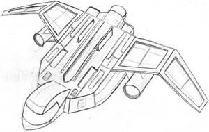 Spaceship by Siveyn