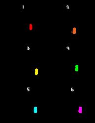 - Smol Pup Lines F2U - by BleedingColorAdopts