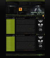 CoD: Modern Warfare 2 Design by hakeryk2