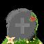 Pixel Art - Tombstone by ShinDatenshi