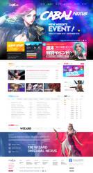 Cabal Nexus - First Webdesign by ShinDatenshi
