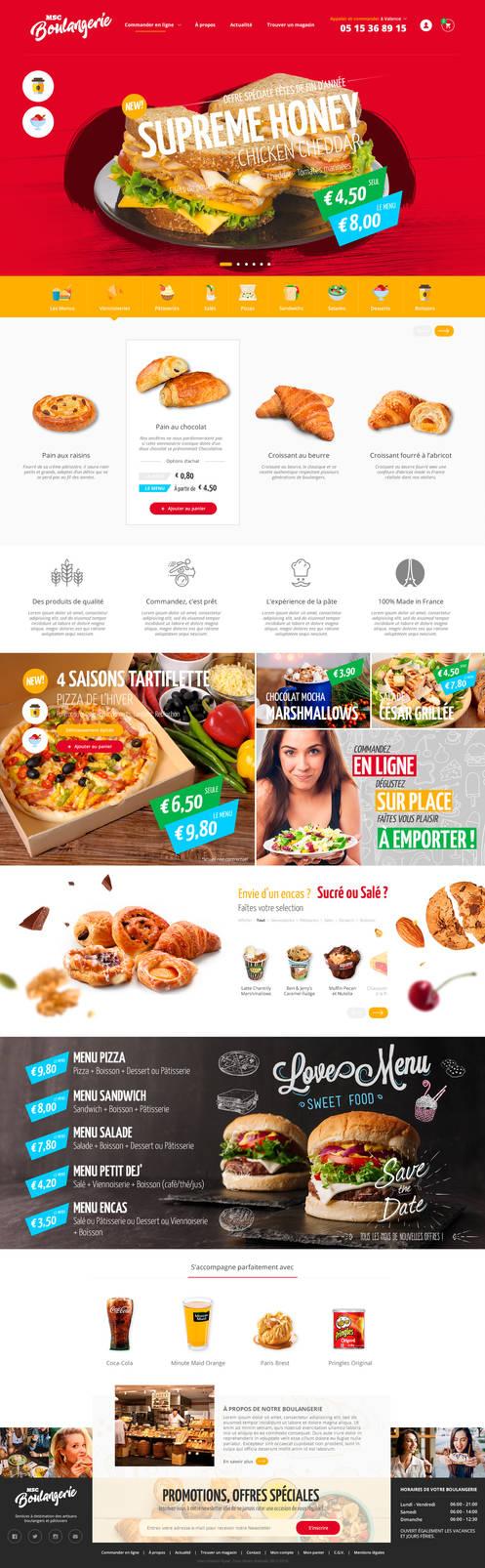 Bakery and Fast Food Online platform V1 by ShinDatenshi