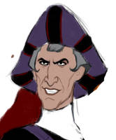 Smile of Frollo by Lucius007