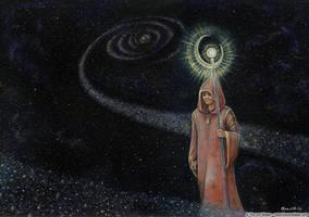 Cosmic Wanderer by wasteddreams