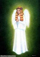 The Angel I saw by wasteddreams