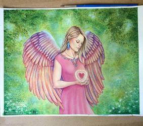 Angel Heart by wasteddreams