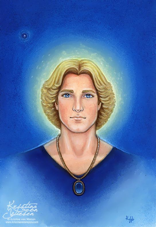 Archangel Michael by wasteddreams