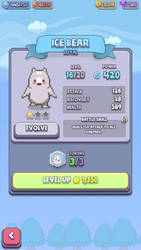 ice bears power level XD by cyndaquil22