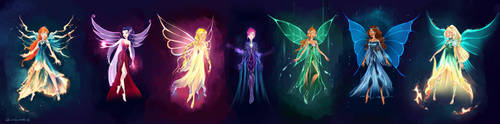 Almost Magical: Ultimate Winx by chocolatesmoothie