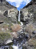 The Falls at Ancient Lake by TRunna