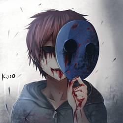 Creepypasta - Eyeless Jack fanart by KuroKuro66