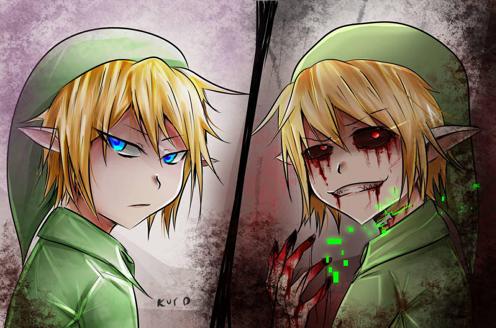 96 Anime The Legend Of Zelda Ben Drowned Painting Home Decor Poster