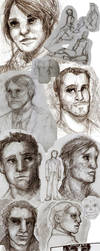 June Sketchdump by Amaliavs