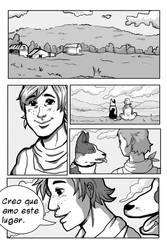 Comic page test by Amaliavs