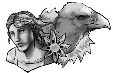 The angel and the vulture- A love story by Amaliavs
