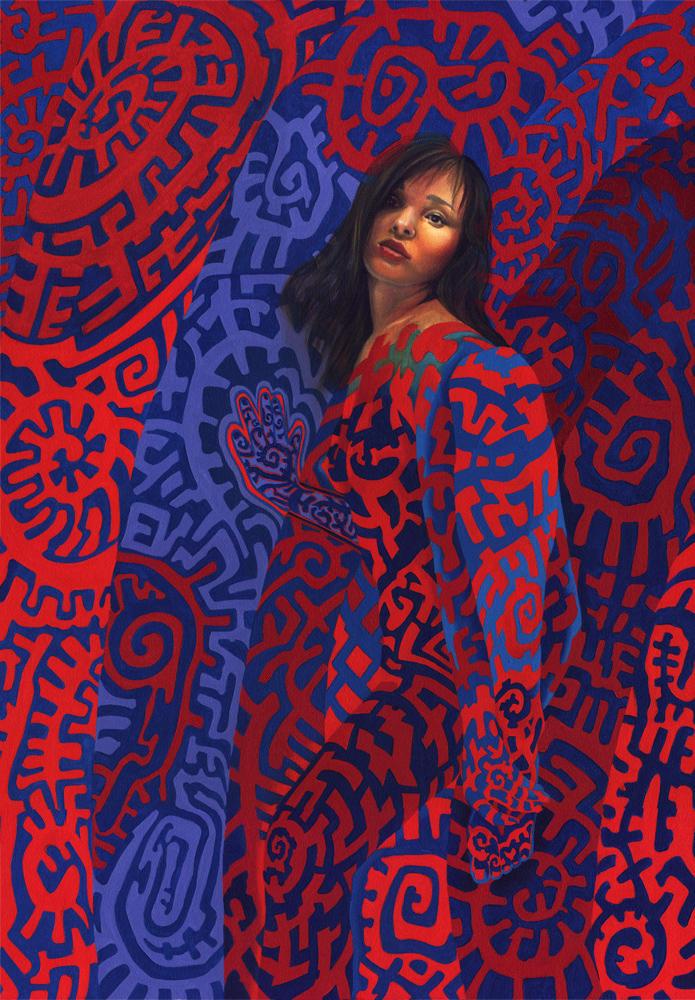 Entoptic Woman by J-E-Mikosz