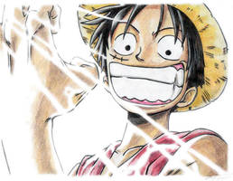 One piece: The Rubber man by v2-6