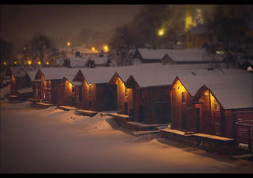 Finnish Old Town, Porvoo by JasperGrom