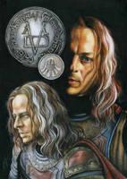 Valar morghulis, Valar dohaeris. Jaqen H'ghar. by slightlymadart