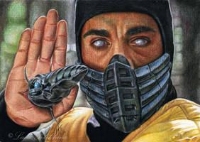 Scorpion by slightlymadart