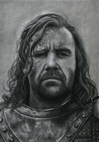 Sandor Clegane by slightlymadart