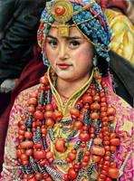 Tibet. Faces East by slightlymadart