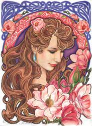 Magnolia by slightlymadart