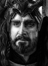 King under the Mountain by slightlymadart