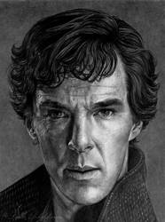 Sherlock_Holmes by slightlymadart