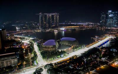 Singapore panorama by zlatko99