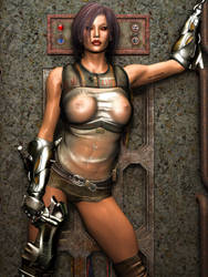 Synthetic Female Number 13509 by Bri65