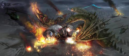 monster brawl by SleepTank