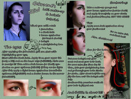 Loki make-up and hair tutorial by Gekroent