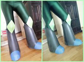 Boots in progress by Gekroent