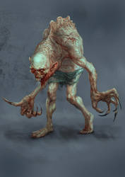 New Mutant Zombie by MilenKalachev