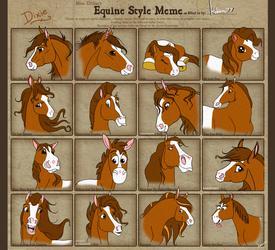 Equine Style Meme by kokamo77